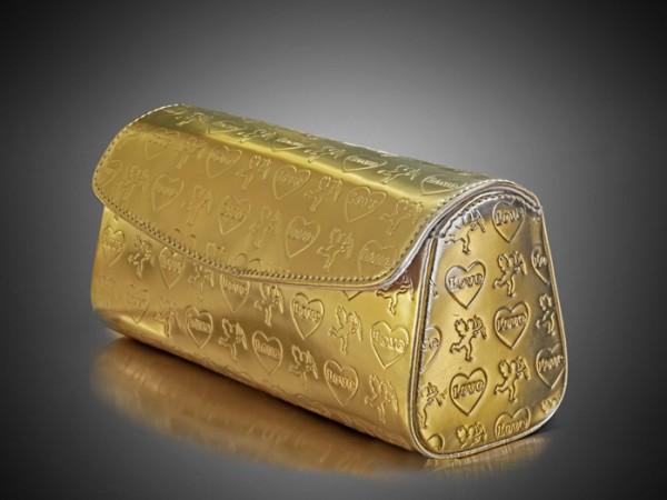 Golden Pouch Bag